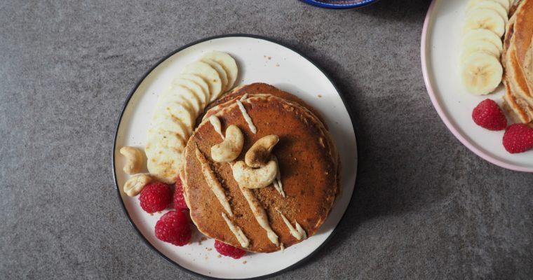 Vegane Bananen Pancakes