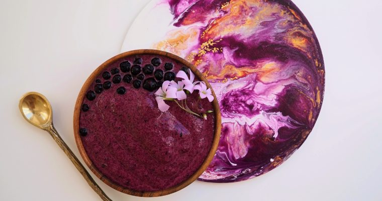 Rote Beete Smoothie Bowl